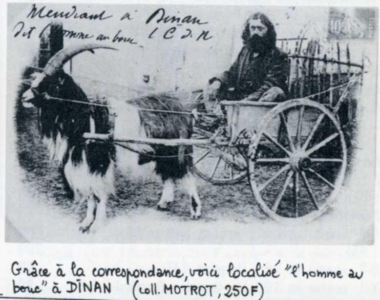 L'Homme au Bouc mendiant itinérant